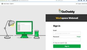 godaddy email login workspace