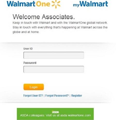 walmartone login www walmartone com login online schedule
