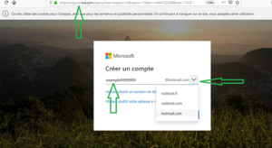 hotmail fr creer un compte