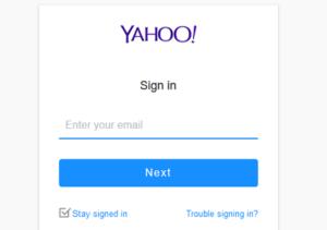Yahoomail login Yahoo Mail